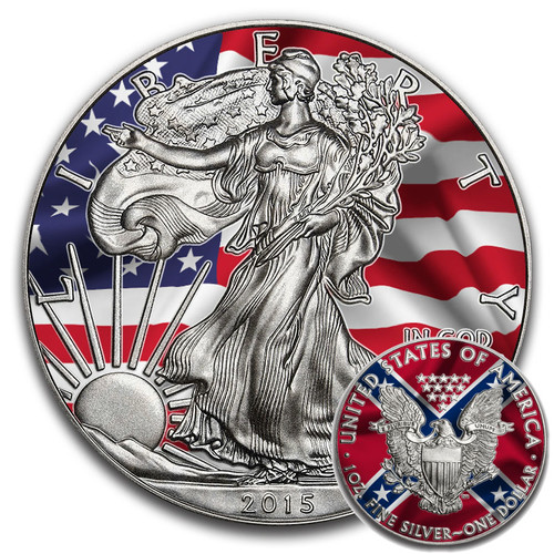 Silver Dazzling Coins
