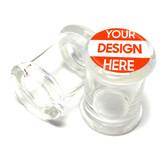 Pop-Top Glass Jar