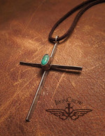 Cross with necklace