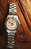 Sold! Thanks Gary! Killer! Vintage Tag Heuer Searacer professional Chronograph watch