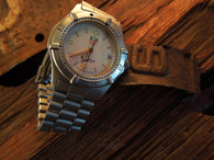 Sold! going to OZ! Thanks Jimbro. Very Nice! Vintage Tag Heuer professional 200 meter granite faced watch