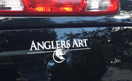 Anglers Art Decal