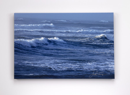 Stormy, a chance to own a little of the Atlantic. Stormy and Sunny, a little of ying-yang for the adventurer. A beautiful canvas print sure to keep all guests happy they are on dry land looking out.