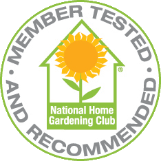 National Home Gardening Club Seal of Approval