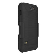 Kyocera DuraForce XD Case with Belt Clip Holster Combo