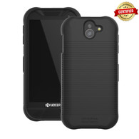 DuraForce PRO 2 Case, Wireless Protech Flex Skin Material Case with Red Emergency SOS Identifier Button for Kyocera DuraForce PRO 2 E6910 E6920