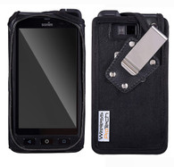Sonim XP8 Case, Wireless ProTECH Heavy-Duty Leather Case with Heavy-Duty Quad Lock Swivel Belt Clip, for Sonim XP8 Phone XP8800