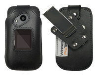 Sonim XP3 Case, Wireless ProTECH Genuine Leather Case with  D-Ring Swivel Belt Clip, for Sonim XP3 Phone XP3800