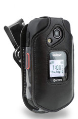 Kyocera DuraXE and DuraXV LTE Case, Wireless ProTECH Genuine Leather Case with D-Ring Swivel Belt Clip, for Kyocera DuraXE / DuraXV LTE