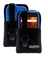 Cat S61 Case, Flex Skin TPU Case for Cat S61 and Ballistic Nylon Pouch with Adjustable Belt Loops by Wireless ProTECH