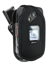 Kyocera DuraXE and DuraXV LTE Case (E4710 & E4610), Wireless ProTECH Ballistic Nylon Case with D-Ring Swivel Belt Clip, for Kyocera DuraXE and DuraXV LTE