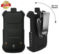 "Kyocera DuraXV Extreme ""TRU FLEX"" Holster with D-Ring Swivel Belt Clip for Kyocera DuraXV Extreme E4810 (2020)"