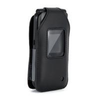 Kazuna Etalk Case, Wireless ProTECH Genuine Leather Case Swivel Belt Clip, for Kazuna Etalk Phone