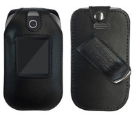 Consumer Cellular Link Case, Wireless ProTECH Genuine Leather Case Swivel Belt Clip, for Consumer Cellular Link Phone