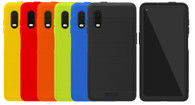 Wireless ProTech Flex Skin Case for Samsung Galaxy XCover Pro SM-G715. Slim Protective Flex Skin Rugged Case with Drop Protection