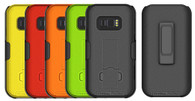 Wireless ProTech Slim Protective Shell Case and Holster Combo for Samsung Galaxy XCover Field Pro G889.