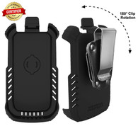 "Kyocera DuraXE EPIC for AT&T ""TRU FLEX"" Holster with D-Ring Swivel Belt Clip"
