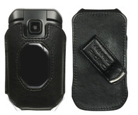 Wireless ProTech Leather Fitted Case with Swivel Belt Clip for Kyocera DuraXE EPIC for AT&T