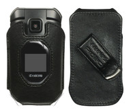 Wireless ProTech Genuine Leather Fitted Case with Swivel Belt Clip for Kyocera DuraXV Extreme E4810