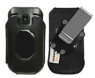 Wireless ProTech Genuine Leather Fitted Case  with Heavy Duty D-Ring Swivel Belt Clip for Kyocera DuraXE EPIC for AT&T