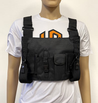 MOLLE Advanced X-Large Tactical Chest Vest with Adjustable Panel Radio Pockets