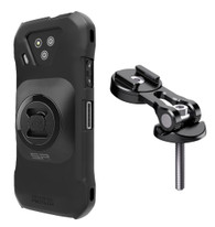 Wireless Protech Case + SP Connect Universal Interface and Stem Mount Pro for Kyocera DuraForce Ultra 5G E7110