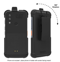 Wireless Protech CAT S62 and CAT S62 PRO Swivel Belt Clip Holster Compatible with CAT S62 Phone. Secure fit, Quick Release Latch and Heavy Duty Swivel Belt Clip Holster