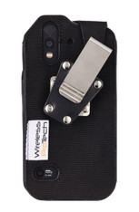 Wireless ProTech CAT S61 Ballistic Nylon Fitted Case with Quad Lock Swivel Belt Clip for the CAT S61 phone