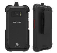 Wireless ProTech Holster with Swivel Belt Clip compatible with Samsung Galaxy XCover Field Pro phone model SM-G889