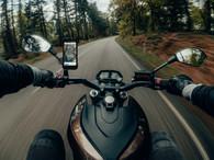 Wireless ProTECH Slim Line Case + SP Connect Motorcycle Mirror Mount Pro Bundle
