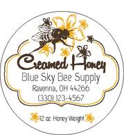 Creamed Honey Labels