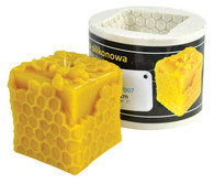 Cube Bee Candle Mold [F007]