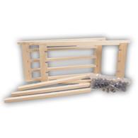 2 Cell Bar Frames w /JZ's BZ's Cups (2 frames + 100 cups) [505]