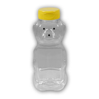 16 oz. Plastic Panel BEARS (case of 50 or 240) [PBR-16]