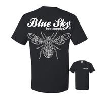Blue Sky Pin-Striped T-Shirt [BSKT]