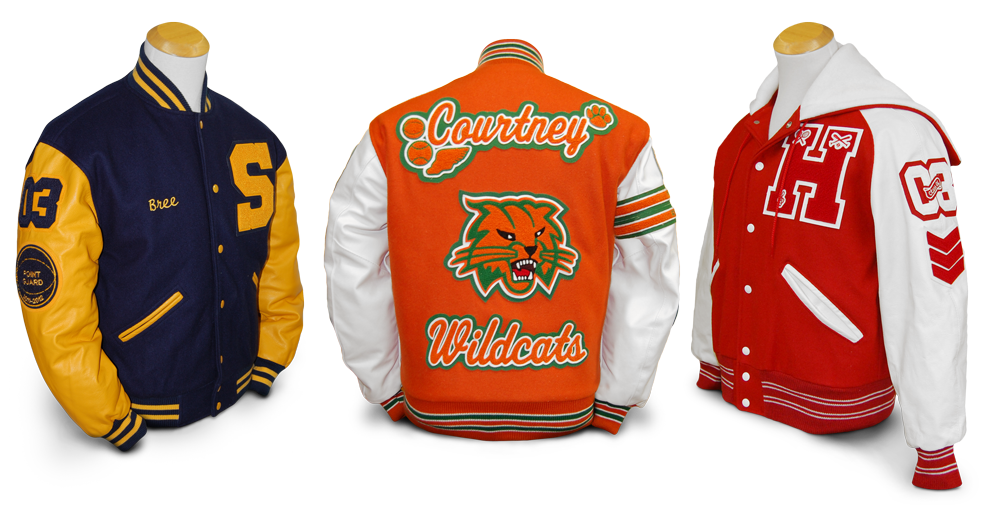 Custom Letterman Jackets   Design Yours Today