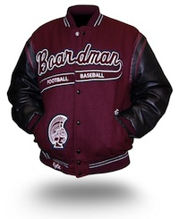 Letterman Jacket History on About Us Page
