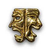 Drama Masks Varsity Letter Pins