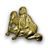 Wrestlers Varsity Letter Pins