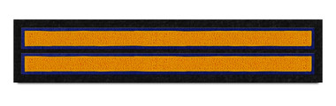 Two-Bar Sleeve Stripe Patch