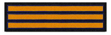 Three—Bar Sleeve Stripe Patch