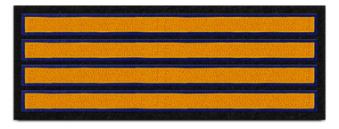 Four—Bar Sleeve Stripe Patch