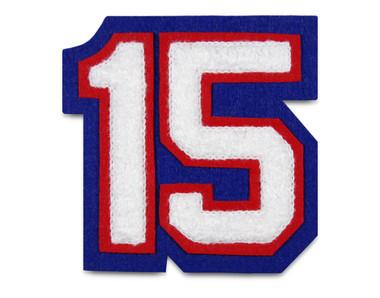 "3"" Double Felt Letterman Jacket Number"