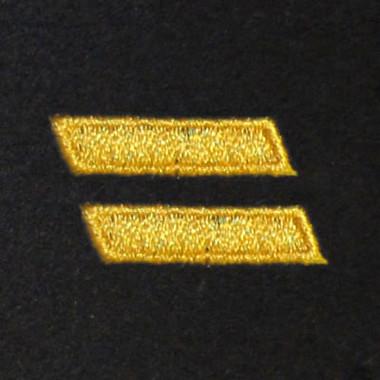 2 Bar Embroidered Swiss Insert