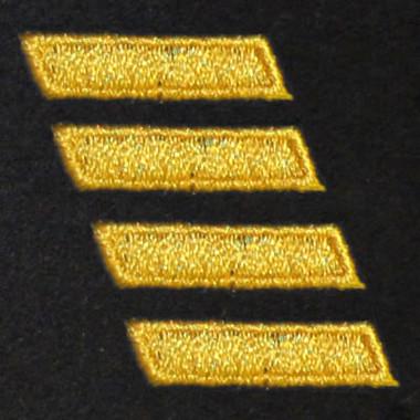 4 Bar Embroidered Swiss Insert