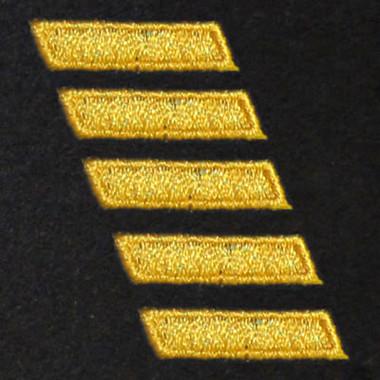 5 Bar Embroidered Swiss Insert