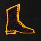 Boots Embroidered Swiss Insert