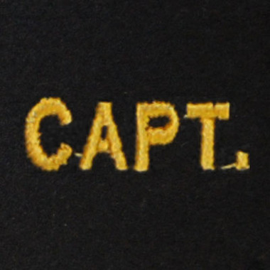Captain Embroidered Swiss Insert