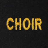 Choir Embroidered Swiss Insert
