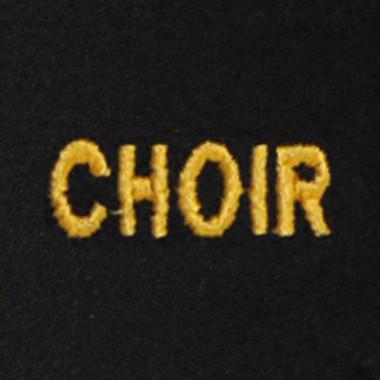 Choir Embroidered Swiss Insert